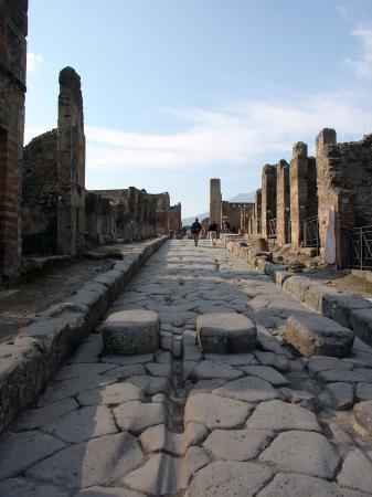 Les passages pietons de Pompeï